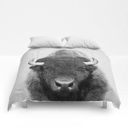 Buffalo - Black & White Comforters