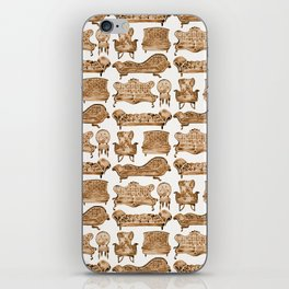 Victorian Lounge – Sepia Palette iPhone Skin