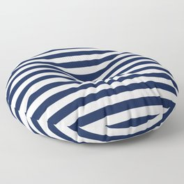 Ebb and Flow Nautical Stripes  Floor Pillow