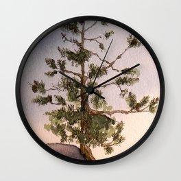 Mohonk Preserve Evergreen Wall Clock