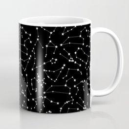 Zodiac Star Constellations Pattern Coffee Mug