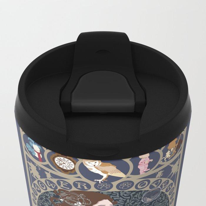Sarah Nouveau - Labyrinth Metal Travel Mug