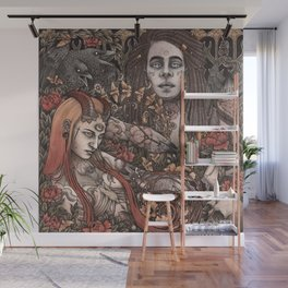 Demons In Colour Wall Mural