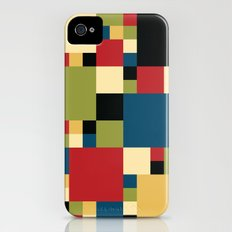 Squares Pattern II Slim Case iPhone (4, 4s)