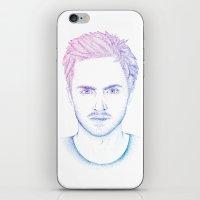 jesse pinkman iPhone & iPod Skins featuring Jesse Pinkman by Ira Shepel