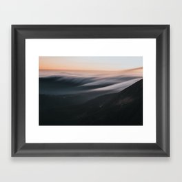 Sunset mood - Landscape and Nature Photography Framed Art Print