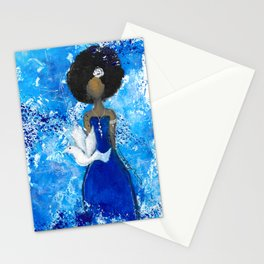 Zeta Angel Stationery Cards