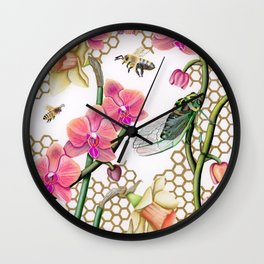 We're All Friends Here Wall Clock