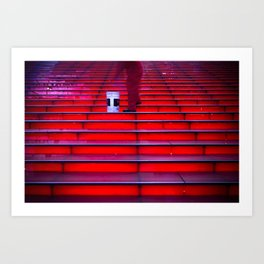 Morning Cleanup, Times Square New York Art Print