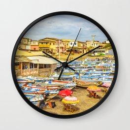 Engabao Beach Guayas Province Ecuador Wall Clock