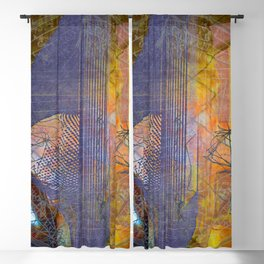 Bauhaus Dangly Bits Blackout Curtain