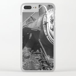 Stem Locomotive Clear iPhone Case