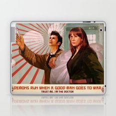 Doctor Who Propaganda Poster Laptop & iPad Skin