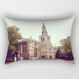 Vintage church Rectangular Pillow