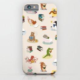 Animal Readers iPhone Case