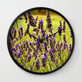 Magic Lavender Wall Clock
