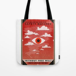 Safety Matches: Psyche Tote Bag