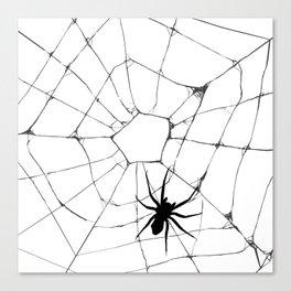 Spidey pattern Canvas Print
