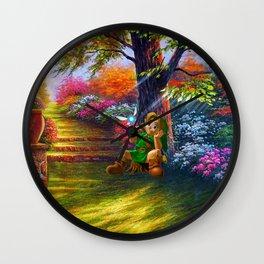 zelda master sword Wall Clock