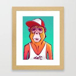 Macaco Prego Framed Art Print