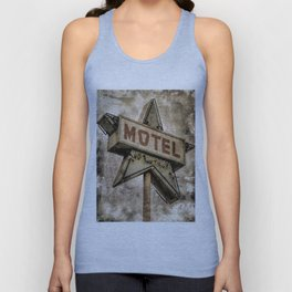 Vntage Grunge Star Motel Sign Unisex Tank Top