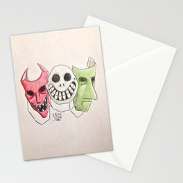 Kidnap the Sandy-Claws Stationery Cards