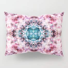 Abstract purple and blue boho pattern Pillow Sham