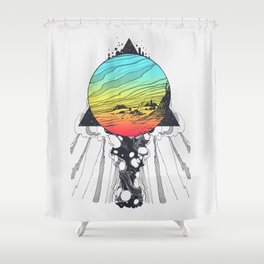 Filtering Reality Shower Curtain