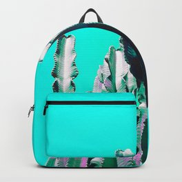 Majestic Cactus - Aqua Backpack