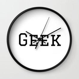 Geek Wall Clock