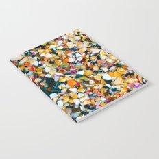 Crushed Sea Shells Notebook