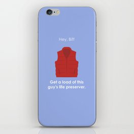 Back to the Future - Life Preserver iPhone Skin