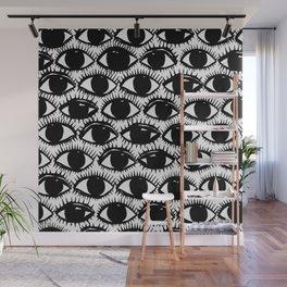 Inky Eyes Wall Mural