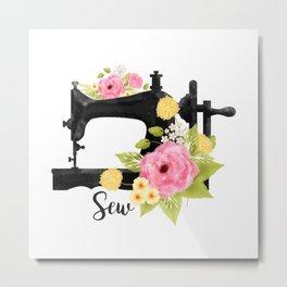 Sew Metal Print