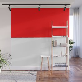 flag of indonesia Wall Mural