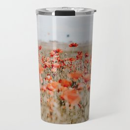 flower field Travel Mug