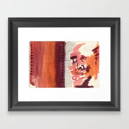 What You Say & What You Mean Framed Art Print