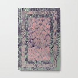 Acid Drip Metal Print