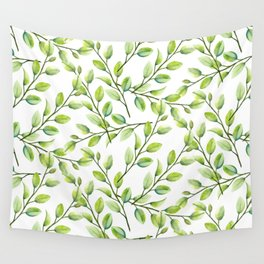 Branches and Leaves Wall Tapestry