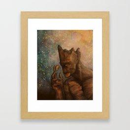 grooot Framed Art Print