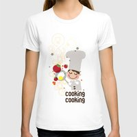 cooking T-shirts featuring Cooking Papa by inkdesigner