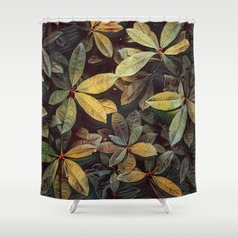 Inspired Foliage Shower Curtain