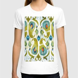 indian cucumbers balinese ikat print T-shirt