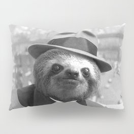 Sloth in New York Pillow Sham