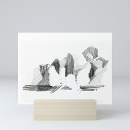 Shadows Mini Art Print