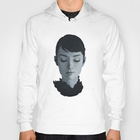 audrey Hoodies featuring Audrey by yurishwedoff