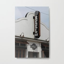 Reel Bar Metal Print