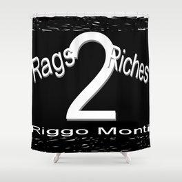 Riggo Monti Design #19 - Rags 2 Riches Shower Curtain