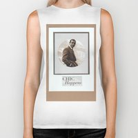 bond Biker Tanks featuring Classic Bond by AuthenticPaperCreations