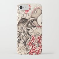 ying yang iPhone & iPod Cases featuring Ying Yang  by Emalee Røse